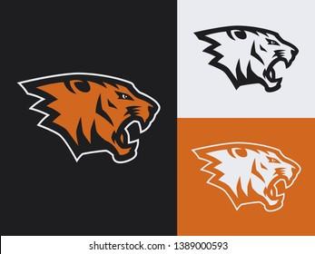 Puma Head Mascot Multiple Versions