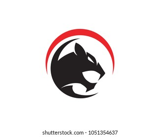 Puma Logo design vector illustration design template