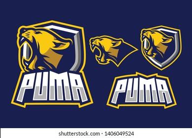 Puma Sport Style Mascot Logo