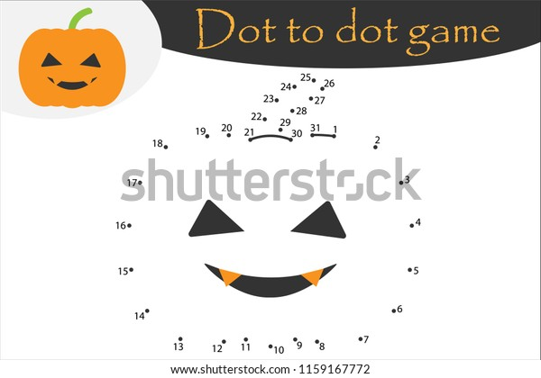 Halloween Pumpkin - Printable Color by Number Page | Free ... | 420x600