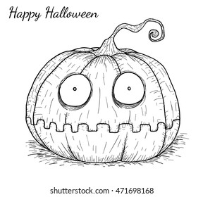 Halloween Pumpkin Drawing Picture.Halloween Drawing Images Stock Photos Vectors Shutterstock