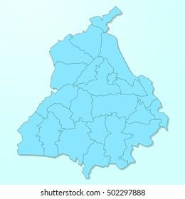 Punjab World Map.Punjab Map Images Stock Photos Vectors Shutterstock