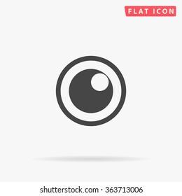 Pupil Icon Vector.
