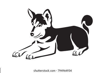 photograph about Printable Dog Stencils known as Pet dog Stencil Photographs, Inventory Photographs Vectors Shutterstock