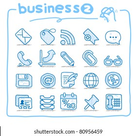 Pure series | Hand drawn business icon