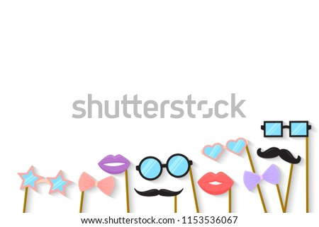 Purim holiday concept cardboard carnival mask stock vector royalty purim holiday concept with cardboard carnival mask vector template maxwellsz