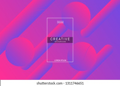 purple background. Liquid composition. designs for posters, leaflets, vector illustrations