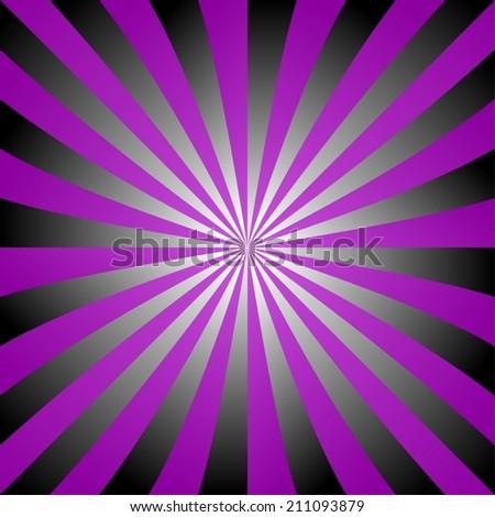 Purple Black White Ray Design Vector Stock Vector Royalty Free