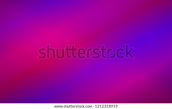 Purple Blue Gradient Abstract Colourful Blurry Stock Vector
