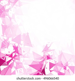 Purple Break Mosaic Background, Creative Design Templates