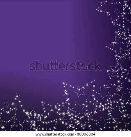 purple christmas background star decorations stock vector royalty