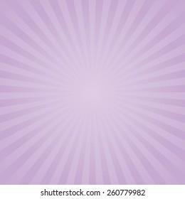 Purple color burst background. Vector illustration