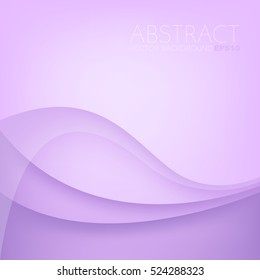 Purple curve line background pink vector overlap paper layer with space for text and message design