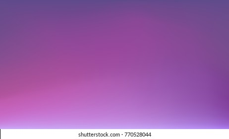Purple Galactic Horizon Blurred Vector Background. Ultra Violet 2018 Color of the Year. Gradient Mesh. Trendy Out-of-focus Effect. Dramatic Saturated Colors. HD format Proportions. Horizontal Layout.