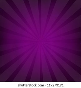 Purple Grunge Background Texture With Sunburst With Gradient Mesh, Vector Illustration