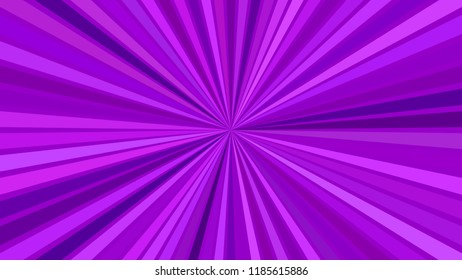 Purple hypnotic abstract striped starburst background design - vector explosive illustration