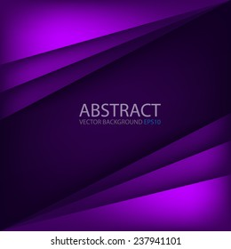 Purple modern vector background overlap multi paper lighting square for text and message website design