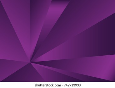 Purple polygonal background, vector illustration, abstract texture, wallpaper, cover, Business flyer template, book layout, advertisement, print media