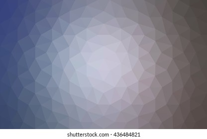 Purple polygonal illustration, which consist of triangles. Geometric background in Origami style with gradient. Triangular design for your business.