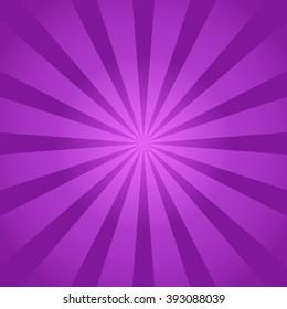 Purple rays background