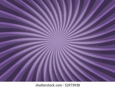 Purple swirl vector