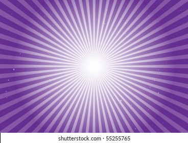 Purple vector blast illustration