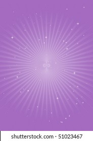 Purple vector circular blast