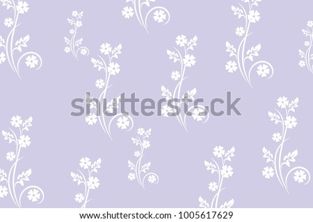 purple white pastel color floral background stock vector royalty