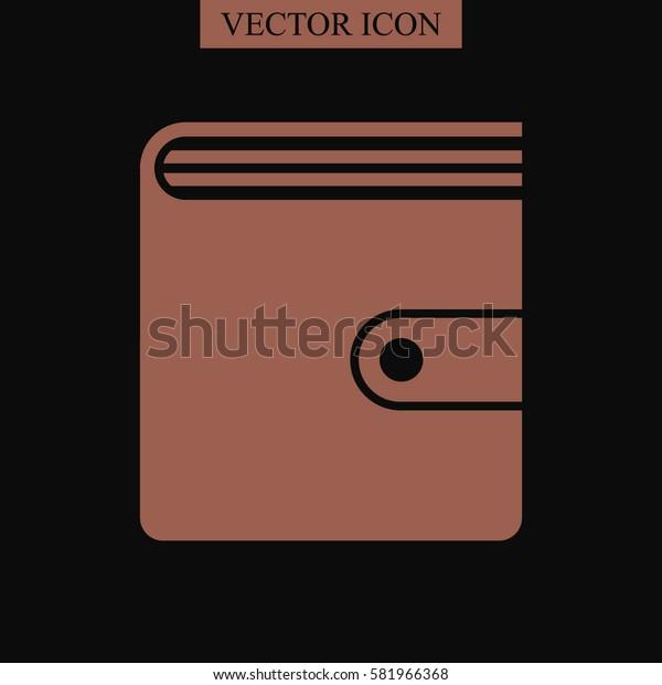 Purse vector icon