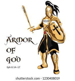 Put on the Armor of God, taken from the epistle of Apostle