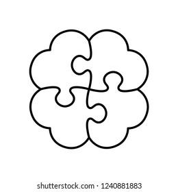 Puzzle creates Cloverleaf