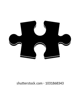 Puzzle jigsaw isolated