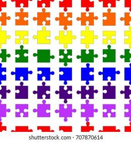 Puzzle Pattern LGBT