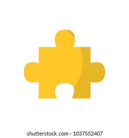 puzzle piece icon image vector illustration design