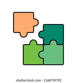 Puzzle piece mismatch