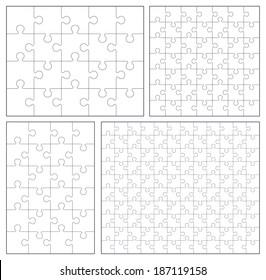 Puzzle set: 20, 24, 49, 120 pieces