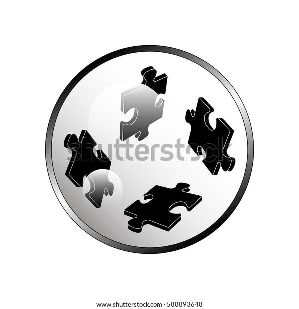 Puzzles icon.