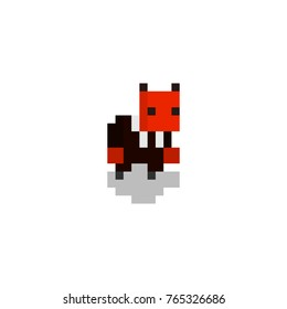Pxel devil character for games and web sites