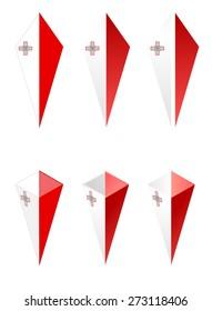 pyramid flag of malta