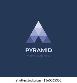 Pyramid logo design