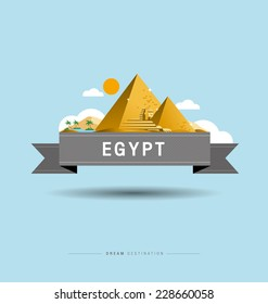 Pyramid, Sphinx, Egypt, destination, travel, city scape, typography
