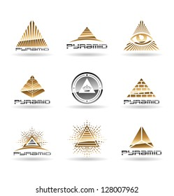 Pyramids. Pyramid With Eye. Vol 2.