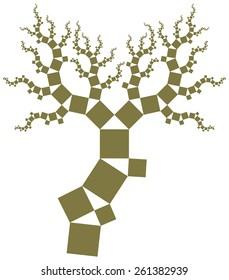Pythagoras tree.