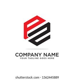 PZ initial letter symbol, clean and clever PZ logo design, modern brand image
