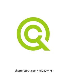 q c letters , q c logo , q c logo template