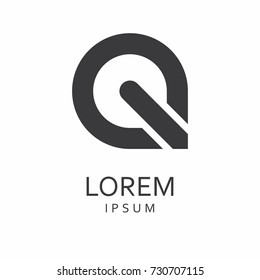Q Letter Logo. Vector Icon