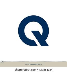 Q Letter Vector Logo Template