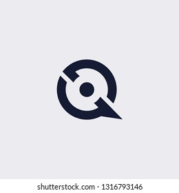 Q logo template. letter S logos vector