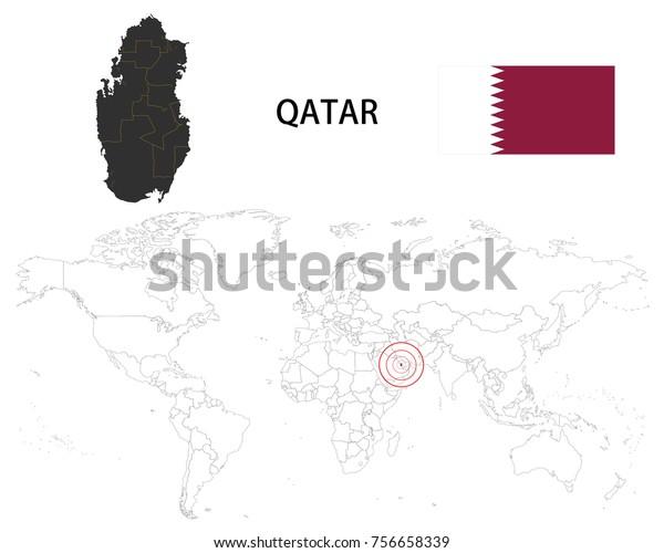 Qatar Map On World Map Flag Stock Vector (Royalty Free ... on liechtenstien world map, cyprus world map, saudi arabia world map, monaco world map, iraq world map, libya world map, dubai world map, the netherlands world map, united arab emirates world map, uae world map, kuwait world map, turkey world map, angola world map, syria world map, belgium world map, singapore world map, hungary world map, jamaica world map, bahrain world map, russia world map,