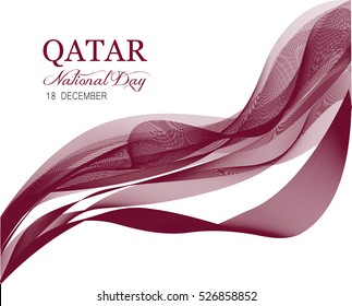 Qatar national day vector